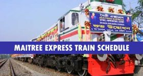 Maitree Express Train Schdule and Ticket price