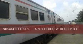 Nilsagar Express Train Schedule Ticket Price