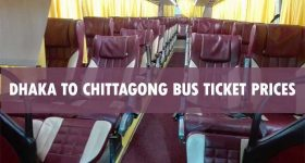 Dhaka to Chittagong Bus Ticket Price