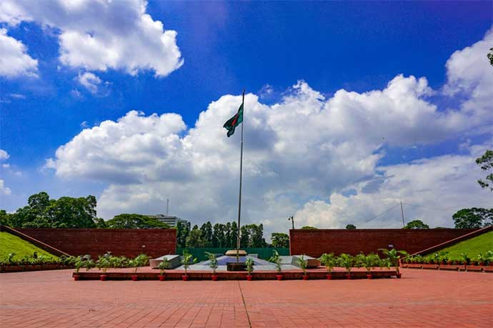 National Monument At Savar symbol of Victory