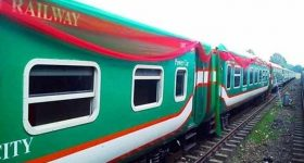 Sonar bangla express train