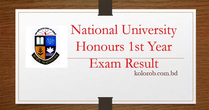 NU Honours 1st Year Result