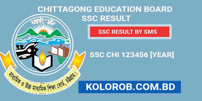 Chittagong Board SSC Result by SMS