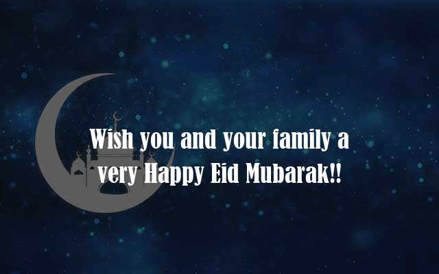 Eid Mubarak Messages For Family Quote Pics