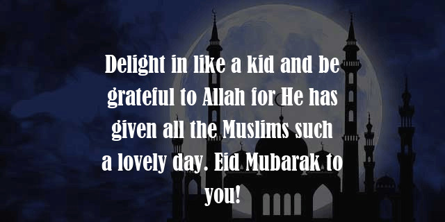 Eid Mubarak to Friends Free Quote Pictures