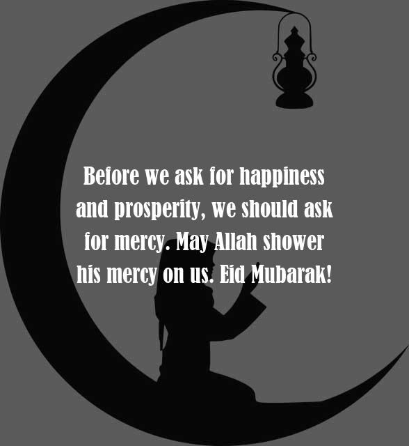 Eid Mubarak to Friends HD Quotes Pic
