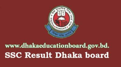 SSC Result Dhaka Board