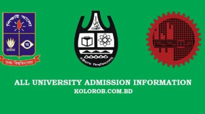 All University Admission Information